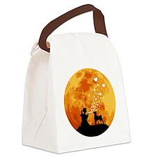 Basenji22 Canvas Lunch Bag