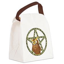 penta owl12 Canvas Lunch Bag