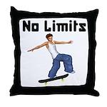 Skateboarders Throw Pillow