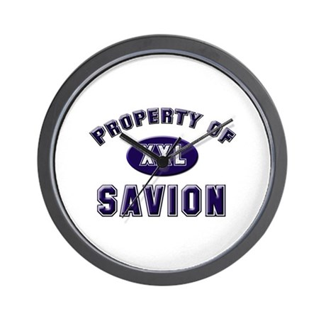 Property of savion Wall Clock