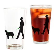 Australian-Shepherd34 Drinking Glass