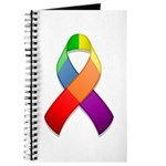Rainbow Pride II Ribbon Journal
