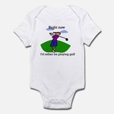Right now i'd rather be playi Infant Bodysuit