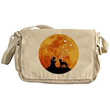 Bedlington-Terrier22 Messenger Bag