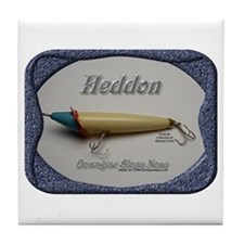 Heddon Slope Nose Tile Coaster