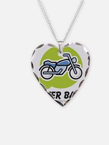 biker-baby Necklace