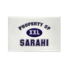 Property of sarahi Rectangle Magnet