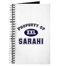 Property of sarahi Journal