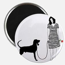 Black--Tan-Coonhound11 Magnet
