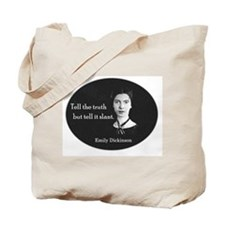 Literary Emily Dickinson Poetry Tote Bag