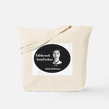 Literary Emily Dickinson Poetry Tote Bag