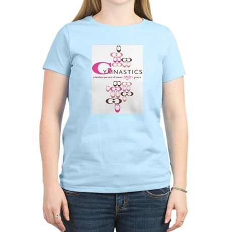"Gymnastics - ""Power, Style & Grace"" Pink T-shirt"