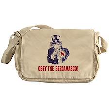 Bergamasco-Sheepdog18 Messenger Bag