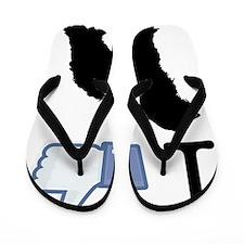 Bergamasco-Sheepdog26 Flip Flops