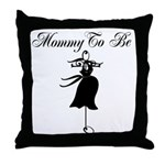 Mom To Be Throw Pillow