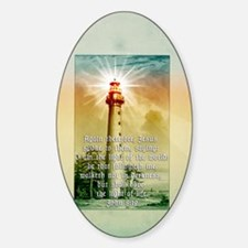 Light of the World (tall) Decal