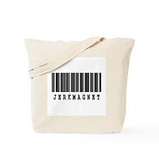 Jerk Magnet Barcode Design Tote Bag