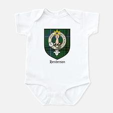 Henderson Clan Crest Tartan Infant Bodysuit