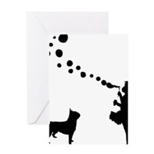 Boston-Terrier28 Greeting Card