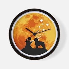 Bouvier-des-Flandres22 Wall Clock