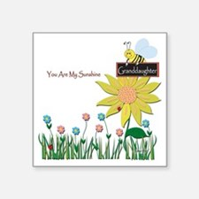 """You Are My Sunshine Infant  Square Sticker 3"""" x 3"""""""