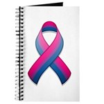 Bi Pride Ribbon Journal