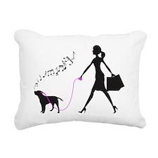 Border-Terrier32 Rectangular Canvas Pillow