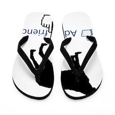 Brittany-Spaniel13 Flip Flops
