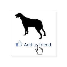 """Brittany-Spaniel13 Square Sticker 3"""" x 3"""""""
