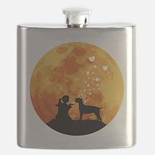 Cane-Corso22 Flask