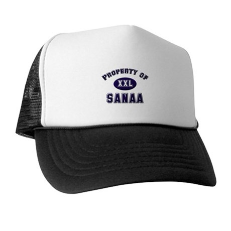 Property of sanaa Trucker Hat