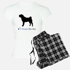 Chinese-Shar-Pei03 Pajamas
