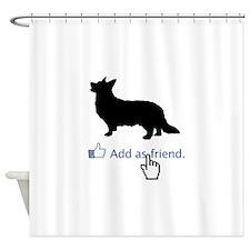 Cardigan-Welsh-Corgi13 Shower Curtain