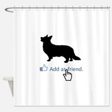Cardigan-Welsh-Corgi13 Shower Curtain