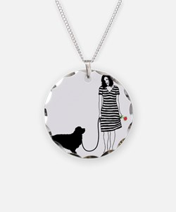 Clumber-Spaniel11 Necklace