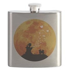 Chihuahua-Longhaired22 Flask