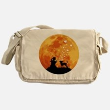 Chinese-Crested22 Messenger Bag