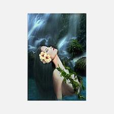 Sacred Falls Rectangle Magnet
