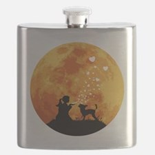 Chinese-Crested22 Flask