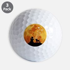 Chinese-Crested22 Golf Ball