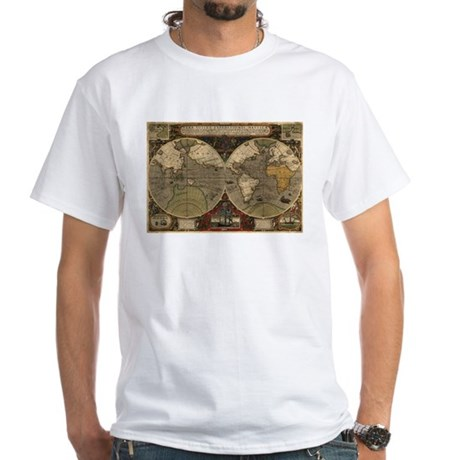 1595 Map of the Known World T-Shirt