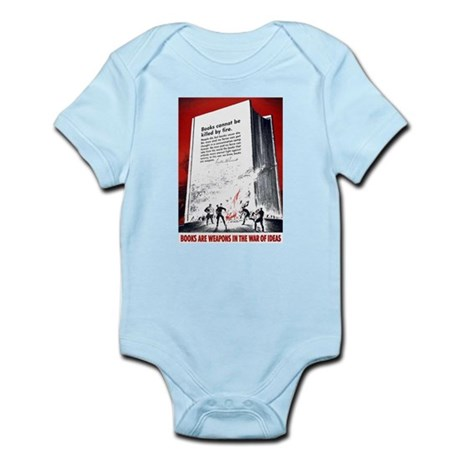 Books Are Weapons Infant Bodysuit