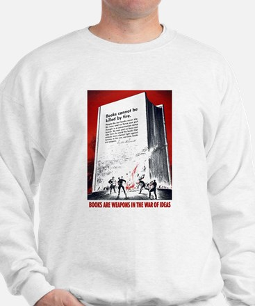 Books Are Weapons Sweater
