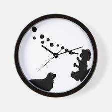 Clumber-Spaniel28 Wall Clock