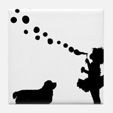 Clumber-Spaniel28 Tile Coaster