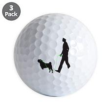 Chinese-Shar-Pei34 Golf Ball