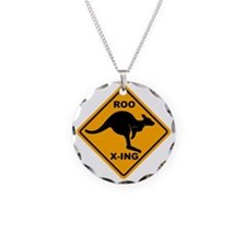 Kangaroo Sign Roo Xing A3 co Necklace