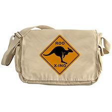Kangaroo Sign Roo Xing A3 copy Messenger Bag