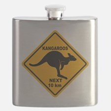 Kangaroo Sign Next Km A2 copy Flask