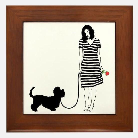 Dandie-Dinmont-Terrier11 Framed Tile